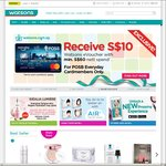 6% Cash Rebate at Watsons eStore with POSB Everyday Cards
