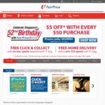 $10 off at FairPrice ($125 Minimum Spend) [Visa Cards]