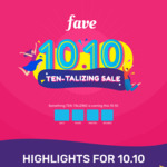Make a Purchase with FavePay on Fave (previously Groupon), Get $0.20 Back in Fave Credits