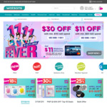 $11 off ($50 Min Spend) and $30 off ($110 Min Spend) at Watsons
