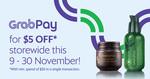 $5 off ($30 Minimum Spend) at innisfree (GrabPay)