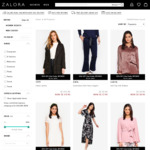 Black Friday/Cyber Monday Offer: 35% off Selected Styles at Zalora (Plus Extra 8% off with Google Pay)