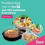 10% Cashback at Food Junction via FavePay