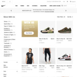 25% off Selected Styles Plus Free Shipping on All Orders at Nike