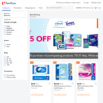 $15 off ($100 Min Spend) on Participating TENA Products at FairPrice On