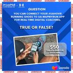 Win a $50 Under Armour Voucher from Lazada