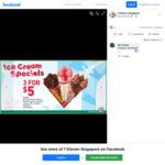 3x Cornetto Ice Cream Varieties for $5 (U.P. $7.80) at 7-Eleven