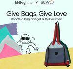 Donate Any Bag, Get a $50 Voucher @ Kipling