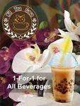 1 for 1 Beverages at Kit Tea Casa