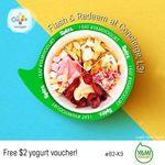 Free $2 Yami Yogurt Voucher from Westgate Mall
