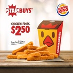 Burger King Star Buys - Chicken Fries for $2.50