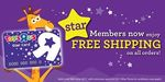 "Free Shipping on All Orders Over $20 at Toys""R""Us (Star Card Members)"