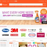 20% off Home & Living Category at Shopee