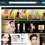 20% off + $12 off $40 with Free Shipping at L'Oreal Paris Official Store @ Lazada
