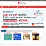 $10 off for New Customers at FairPrice ($49 Minimum Spend)