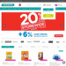 20% Off Store-wide and Online With Min $38 Spend + 6% Cash Rebate for POSB Everyday Card Until 1 May 2018 @ Watsons
