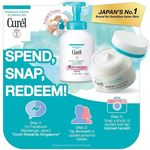Redeem Free Gifts with Purchasing Curel Products in a New Loyalty Program