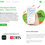 $5 off First 2x Rides with GO-JEK (Beta, DBS Customers)
