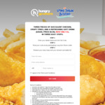 3pcs Chicken, Crispy Fries and Soft Drink for $3 (U.P. $6.50) at Long John Silver's via HungryGoWhere [Singtel Customers]