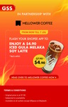 Iced Gula Melaka Soy Latte for $4.90 ($7.90) at Mellower Coffee [Shopee App Required]