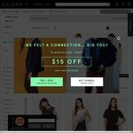 Buy 3 Selected Items & Get 30% off, Spend over $120 and Get a Further 20% off with Promo Code [Total 50% off] at Zalora