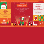 Win up to $100 Worth of Prizes Daily from Guardian (Santa Dash)