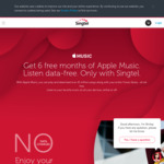 Get 6 Free Months of Apple Music (& Listen Data-Free) When You Sign up or Recontract on Singtel Postpaid Mobile Plans