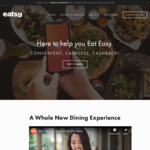 $5.40 off ($12 Min Spend) for New Users at Eatsy