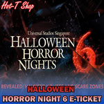 $46 for Universal Studios Singapore Halloween Horror Night 6 Adult eTicket via Qoo10