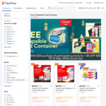 Free Collapsible Food Container (Worth $15) with $28 Min Spend on Participating Colgate Products at FairPrice