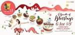 6 for $9 Christmas Donuts Bundle at BreadTalk