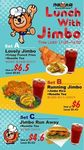 Jimbo Lunch Sets at Fried Chicken Master - Set A: $6.5 (U.P $8.8), Set B: $6 (U.P $8.4) or Set C: $4.6 (U.P $5.6) [11am to 4pm]