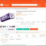 2x Eclipse Mints for $2.99 Delivered from corettamanson at Shopee