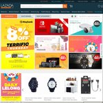 15% Off at Lazada (Capped at $8) (9-31 March) [New Shoppers Only]