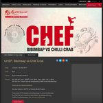 50% off Chef: Bimbibap Vs Chilli Crab at RWS