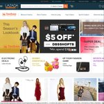 18% off Taobao on Lazada (First 100 New Customers) (Capped at $6)