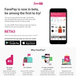 $3 off First Payment with FavePay at Fave by Groupon (Plus 20% Cashback on Purchases)