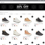 Extra 30% off Selected Shoes + Additional 10% Off Sitewide Online @ ecco