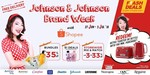 $6 off $50 and Buy $80 of Johnson and Johnson Products Offical E-Store and Redeem a Kettle or Toaster