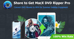 Free Licensed Copy of MacX DVD Ripper Pro V6.1.0