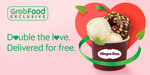 Double Scoop of Häagen-Dazs at $5.90 (Up $10.90) with Free Delivery, Additional Topping at Grabfood