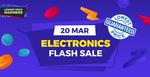 10% off ($10 Min Spend), $10 off ($150 Min Spend) or $100 off ($1200 Min Spend) Electronics at Shopee