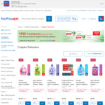 Free Toothpaste (Worth $11.80) When Spending $25+ on Colgate Palmolive Products at FairPrice On