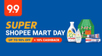 $2 off ($16 Min Spend) or $7 off ($60 Min Spend) on Selected Categories at Shopee Mart