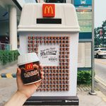Free McDonalds Hershey's McFlurry on 20-22 Sep @ Selected Bus Stops