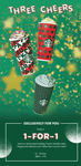 1 for 1 Venti Sized Holiday French Vanilla Latte, Peppermint Mocha or Toffee Nut Crunch Latte at Starbucks (Cardmembers)