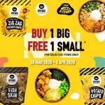 Buy 1 Get 1 Deals @ Messy Kitchen at IRVINS Salted Egg