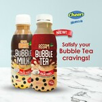 2x Polar Bubble Tea Drinks (Peach, Coffee & Assam Flavours) for $3.90 at Cheers