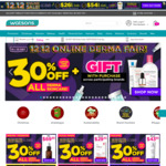 30% off All Derma Skincare at Watsons