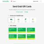 8% off Gift Cards w/ $50 Min Purchase at Grab